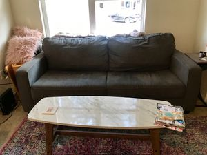 Grey small comfy sofa for Sale in Denver, CO