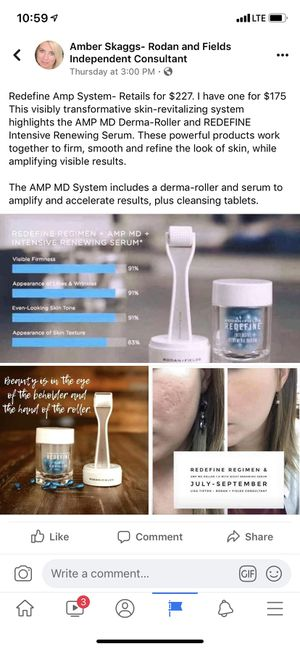 Rodan and Fields AMP System for Sale in Savannah, GA