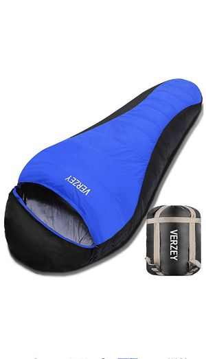 Envelope Camping Sleeping Bag for Adults, Youth,Kids & Boys, Great for 4 Season,Portable for Backpacking Traveling Hiking Waterproof Lightweight Outd for Sale in Knightdale, NC