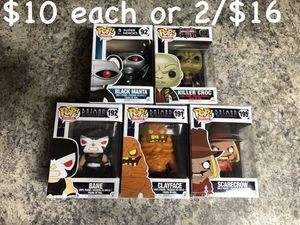 Funko POP Batman Villains $10 each or 2/$16 for Sale in Spring Hill, FL