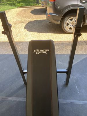 Brand new Fitness Gear weight bench, fully assembled for Sale in Brentwood, TN