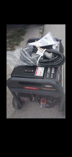 Generator brand new never used 8500 STARTING WATTS !! for Sale in Lake Worth, FL