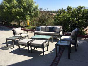 Patio Furniture Set 8 piece for Sale in El Cajon, CA