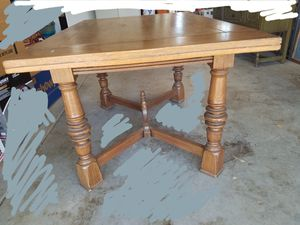 Table, antique oak dining table for Sale in Ramona, CA