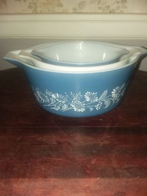 Pyrex Colonial Mist 3 Piece for Sale in Lynchburg, VA