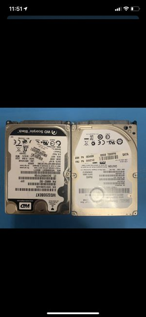 """LAPTOPS HARD DRIVES 2.5"""" 160GB -250GB-320GB-500GB-1TB TESTED WORKING PERFECTLY for Sale in Naperville, IL"""