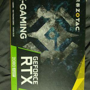 Zotac Nvidia 2080 Super GPU for Sale in Garden Grove, CA