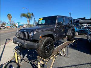2017 Jeep Wrangler Unlimited for Sale in Escondido, CA
