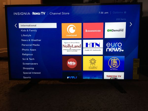 """39"""" Insignia ROKU TV for Sale in Columbus, OH - OfferUp"""