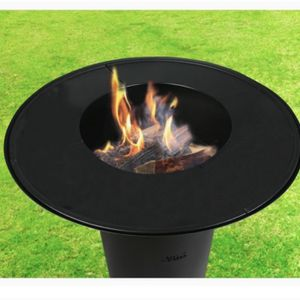 "30"" Fire Pit Bonfire Fire wood charcoal heater for Sale in Ontario, CA"