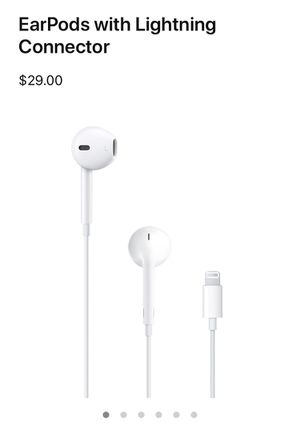 Apple Lightning Earphones for Sale in Natick, MA