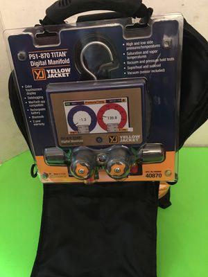 Yellow Jacket Digital Manifold Complete Kit Set P/N P51-870 Titan New Condition $600 OBO. Boynton area. for Sale in Boynton Beach, FL