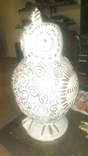 Ceramic owl vase for Sale in San Leandro, CA