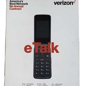 NEW Kazuna eTalk KAZ-F019 - 4GB - Gray (Verizon Prepaid) Cellular Phone NIB for Sale in Tampa, FL