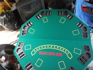 8 players fold up poker table for Sale in Indianapolis, IN