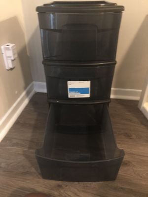 Plastic Storage Container 3-drawer for Sale in Decatur, GA