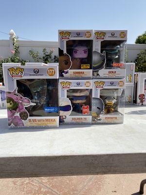 Overwatch funko pop lot for Sale in Pico Rivera, CA