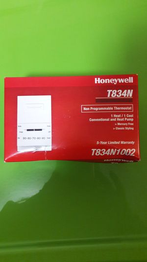 Honeywell Thermostat T834N1002 for Sale in Denver, CO
