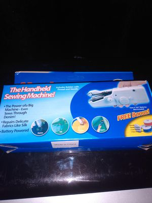 Handheld Sewing Machine for Sale in Fort Worth, TX