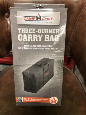 Camp chef 3 burner carry bag for Sale in Bakersfield, CA
