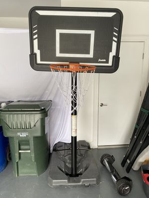 Adjustable basketball hoop for Sale in Raleigh, NC