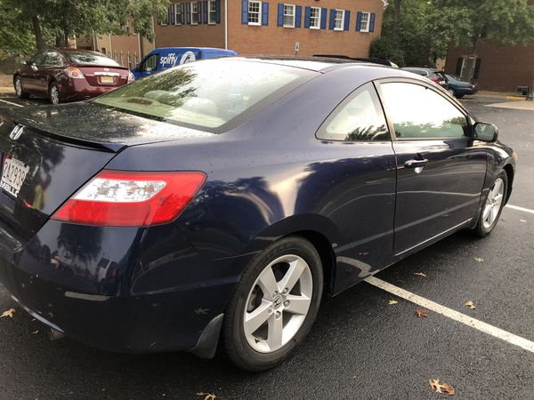 Honda Civic 2006 EX Only 63K miles , Clean Title