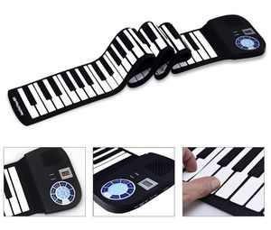 New HONEY JOY Roll Up Piano Portable 88 Key Piano Keyboard, Soft Grade Silicone Bluetooth enabled, charge take anywhere for Sale in Whittier, CA