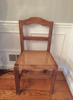 Cane is back! 2 cane chairs for sale in perfect condition for Sale in Rockville, MD