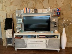 Entertainment center – three months old for Sale in Austin, TX