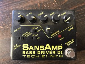Bass Driver - Tech 21 Sans Amp DI for Sale in Los Angeles, CA