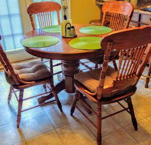 Kitchen Oak Set for Sale in VINT HILL FRM, VA