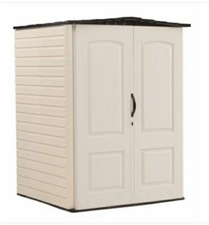 """Rubbermaid Storage Shed - 4'4"""" x 4'8"""" New for Sale in Stockton, CA"""