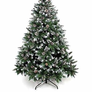 """6.9' Unlit Flocked Tree w/ Pinecones """"Missing thumb screws (A) L for Sale in Westerville, OH"""