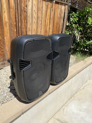 PA System (stands included) for Sale in Riverside, CA