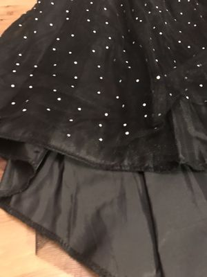 Halloween Costume High Low Tutu Skirt Starts Sequins Skirt Size 10/12 for Sale in Alexandria, VA