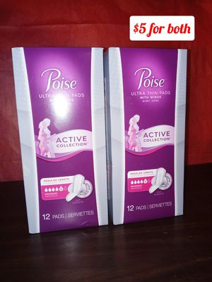 Poise pads for Sale in Kansas City, MO