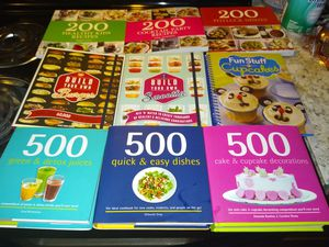 New cook books $5 each for Sale in Quapaw, OK
