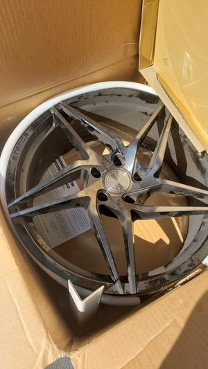 """Two Stance 20"""" rim's with new tires for Sale in Oregon City, OR"""