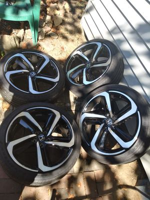 VENDO RINES PARA HONDAS ESTAN SEMI NUEVOS ZAIZ 19. 5X114.3 for Sale in UNIVERSITY PA, MD