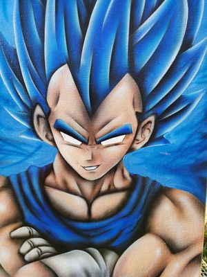 Vegeta painting for Sale in Houston, TX