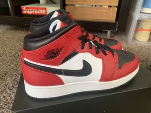 Jordan 1 Mid Chicago Black Toe Sz 9, 7y, 6.5y / New!! for Sale in Houston, TX