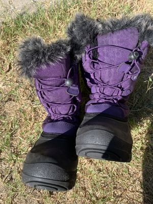 Kamik Kids Girls Snow Boots Size 2 for Sale in ROWLAND HGHTS, CA