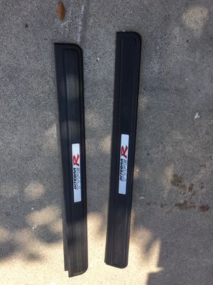 02-06 Acura Rsx Type R Dc5 Door sills Oem Honda Part / Color Black , Like new, Asking $100.00 Firm for Sale in Norwalk, CA