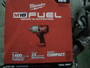 """Brand new Millwakee m18 fuel 1/2"""" high impact wrench for Sale in Portland, OR"""