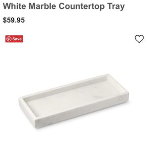 NEW, IN BOX WILLIAM SONOMA MARBLE COUNTER TOP TRAY! for Sale in Ballwin, MO