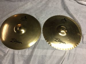 "Zildjian A Custom 15"" Master Sound Hi Hats for Sale in Roselle, IL"