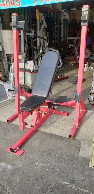 Powertec squat rack/ bench press for Sale in Anaheim, CA