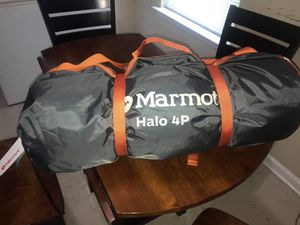 BRAND NEW Halo 4p Mermot tent for Sale in E FAYETTEVLLE, NC