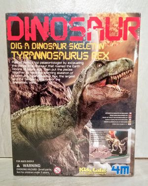 Dig a Dinosaur Skeleton Tyrannosaurus T-Rex 4M Kidz Labs Educational New SEALED for Sale in Orange, CA