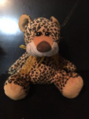 """Stuffed Leopard Animal - 8"""" Sitting Up - Used for Sale in Harrodsburg, KY"""